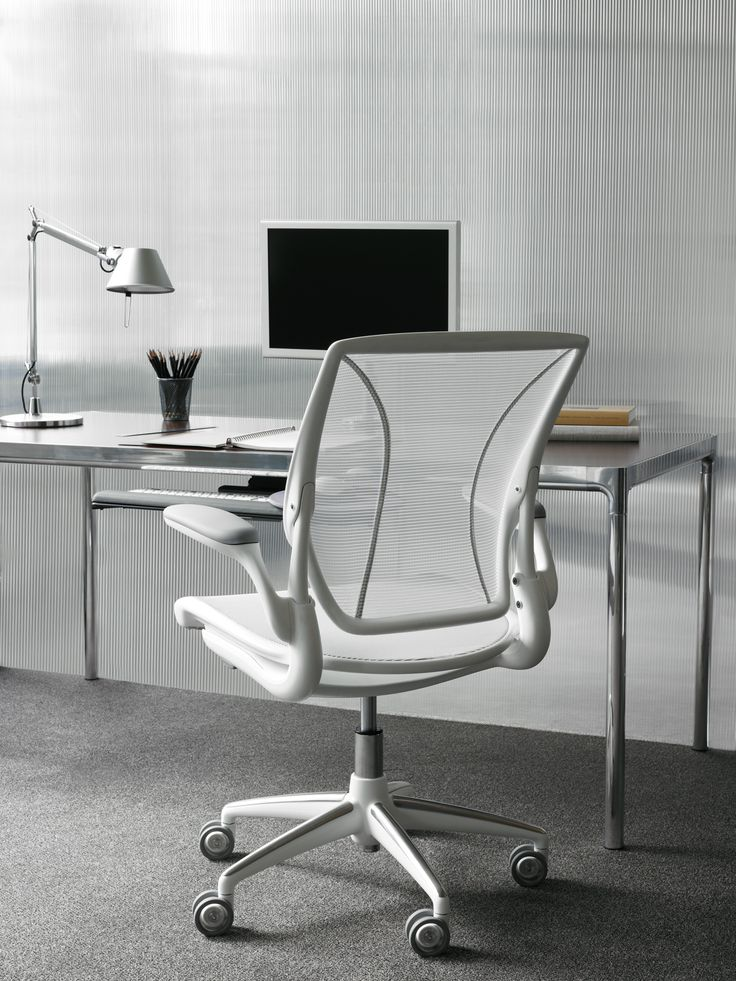 Contemporary, sleek office seating.
