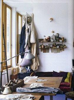 Manon gignoux studio: Art Spaces, Artists Studios, Studios Spaces, Art Studios, Creative Spaces, Manon Gignoux, Gignoux Studios, Work Spaces, Studios Interiors
