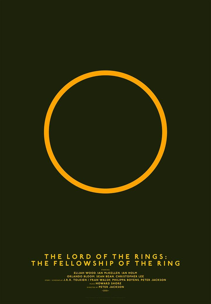 The lord of the rings - The fellowship of the rings