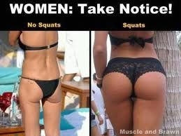 Image result for woman squats