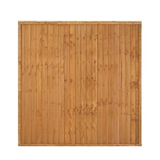 Larchlap Heavy Duty Closeboard Fence Panels 1.8 x 1.8m 9 Pack | Closeboard…