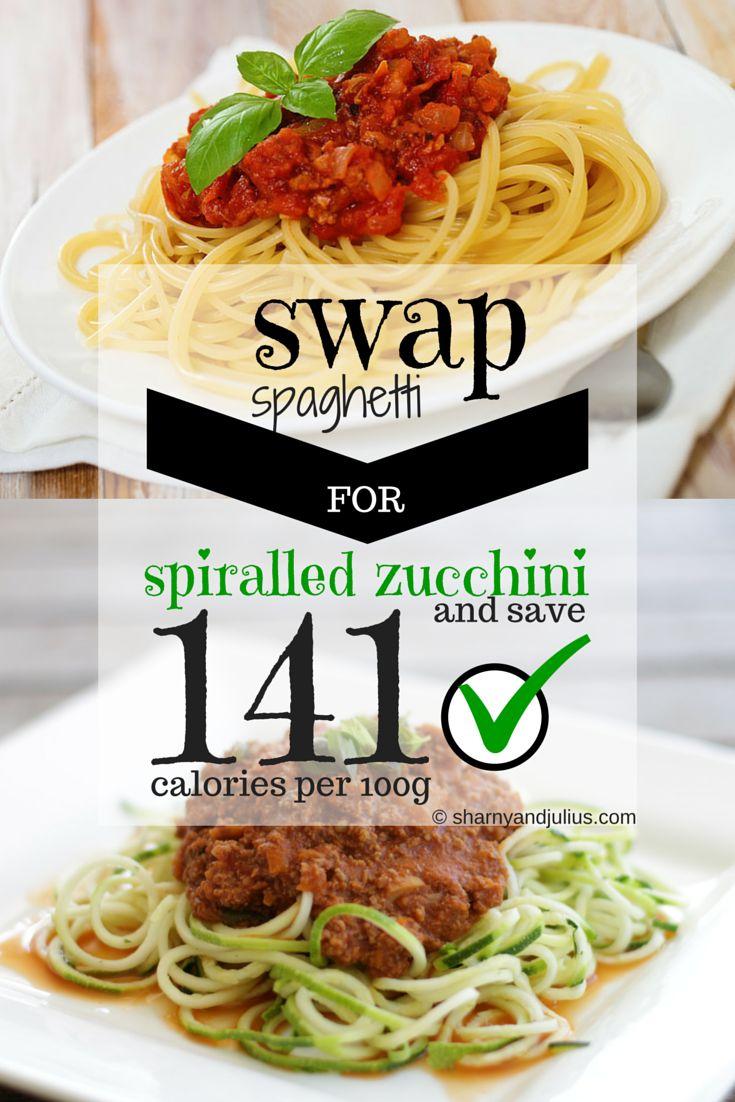 Swap spaghetti for zucchini