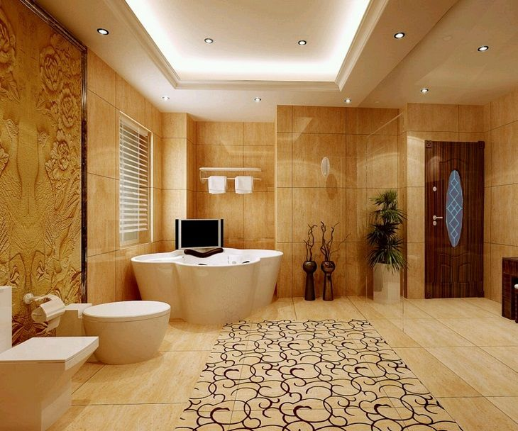 Images of Decorated Modern Bathrooms Ideas