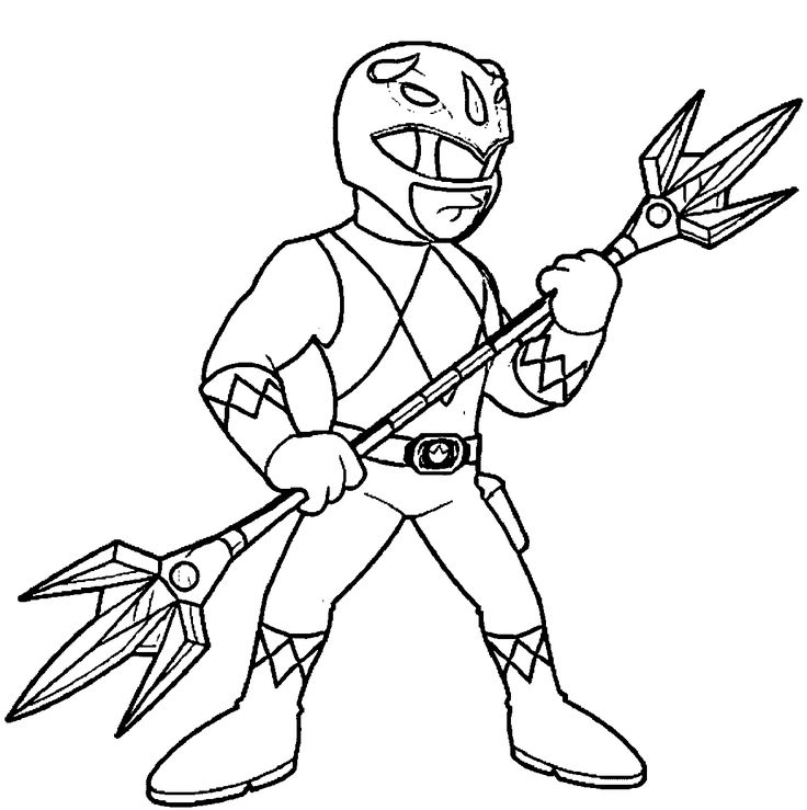 pink power ranger coloring pages - photo#18