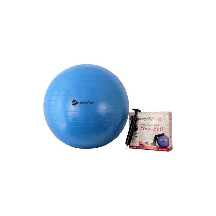 DragonFly Yoga Ball - Blue (75 cm)