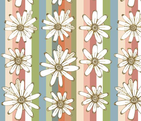PRIMAVERA fabric by ex-m on Spoonflower - custom fabric