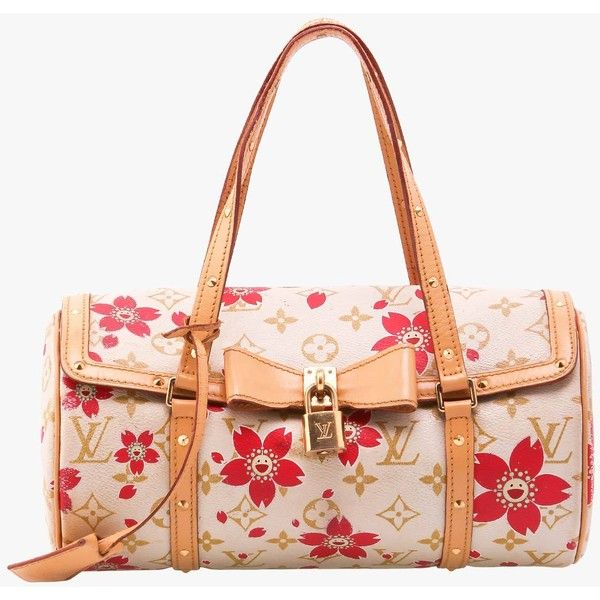 Pre-owned Louis Vuitton Cherry Blossom Papillon ($828) ❤ liked on Polyvore featuring bags, handbags, multicolor, louis vuitton, colorful bags, louis vuitton bags, cherry blossom bag and lock bag