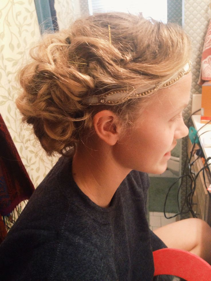 The Great Gatsby prom hair love
