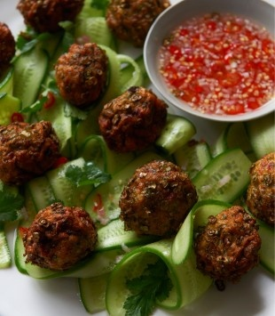 Thai fish cakes | Karen Martini