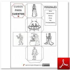 LAPICERO MÁGICO: Cubos para inventar cuentos