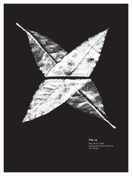 The xx - Sasquatch! Music Festival. Jason Munn.