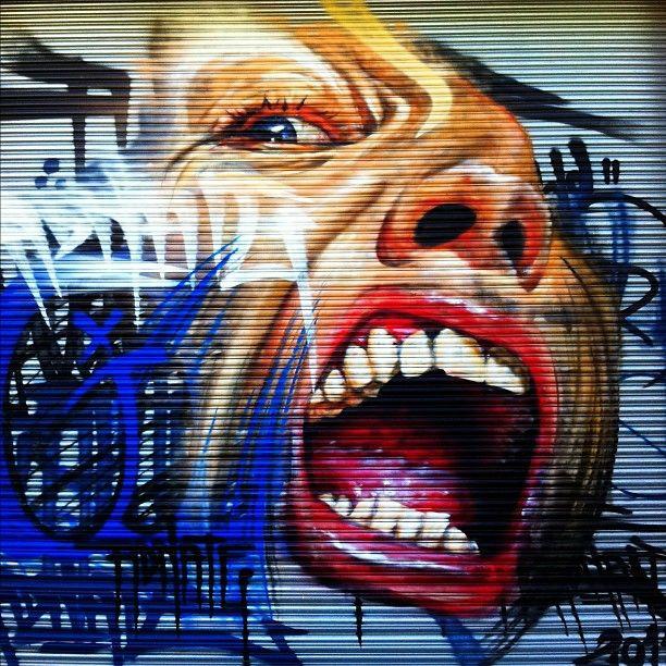 StreetArt in Richmond, Melbourne