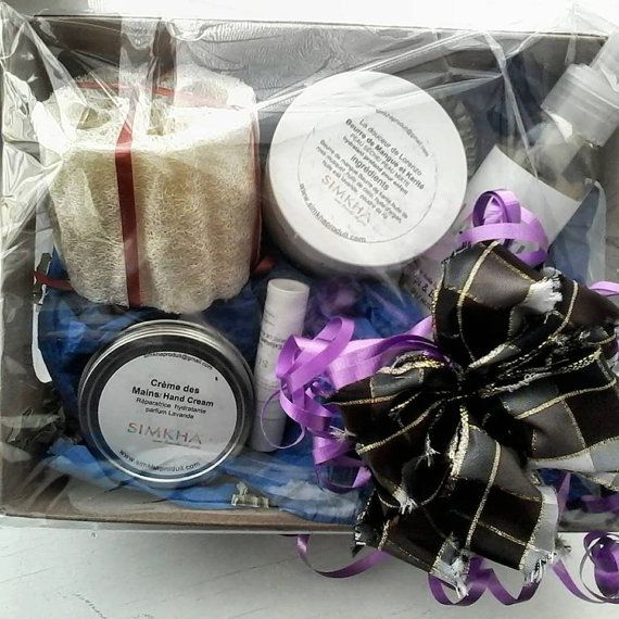 Deluxe Gift Set Cold and beauty by SIMKHAbeautyproduct on Etsy