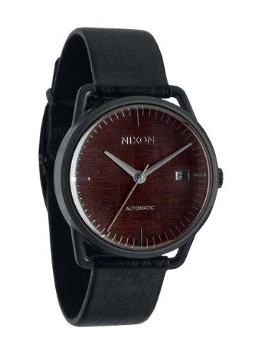 Nixon Mellor Automatic Watch Dark Wood/Black, One Size $448.95 http://amzn.com/B006MNE7RG #NixonWatch