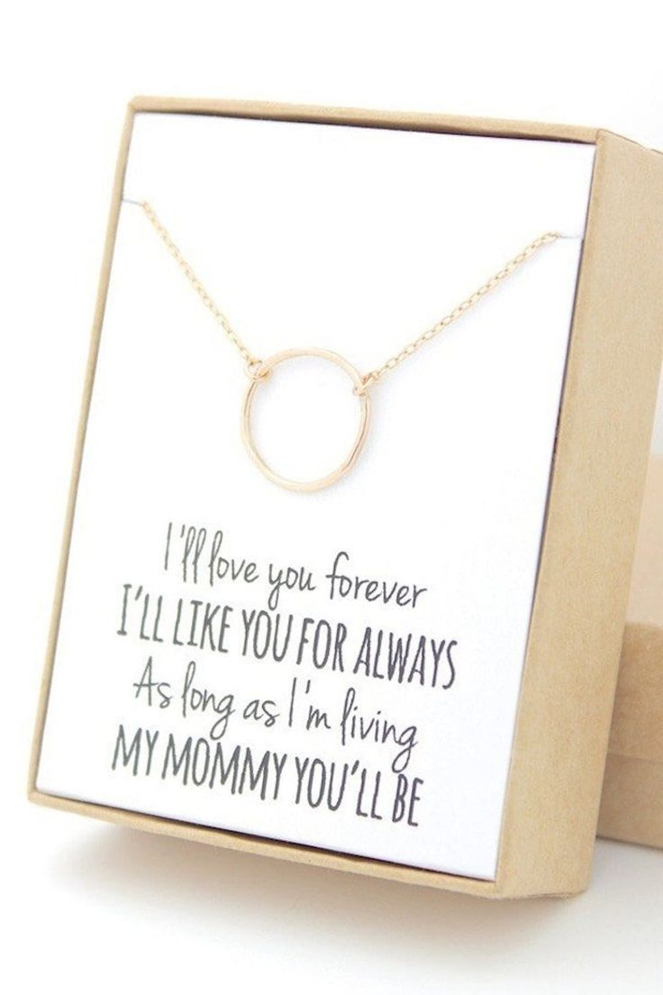 sentimental gifts for mom on wedding day