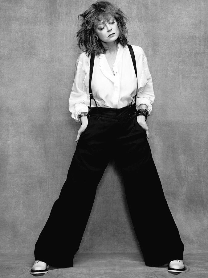 Susan Sarandon for Madame Figaro. October, 2016