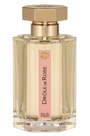 Drole de Rose L Artisan Parfumeur for women - I'd like this more if it had a different name. Calling it a rose fragrance sets up an expectation that just isn't met by this sweet, powdery, almond cookie of a perfume. Perfectly nice, but not a rose.