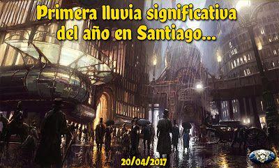 Presente Consciente: Primera lluvia del año - Santiago
