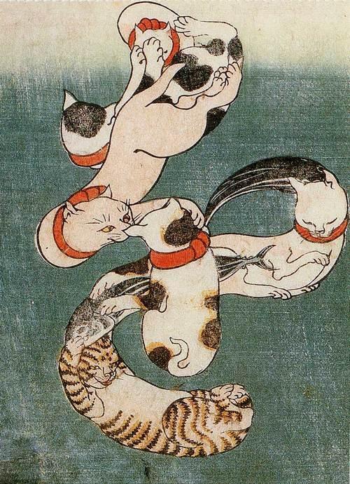 Utagawa Kuniyoshi (1797-1861) 「を」
