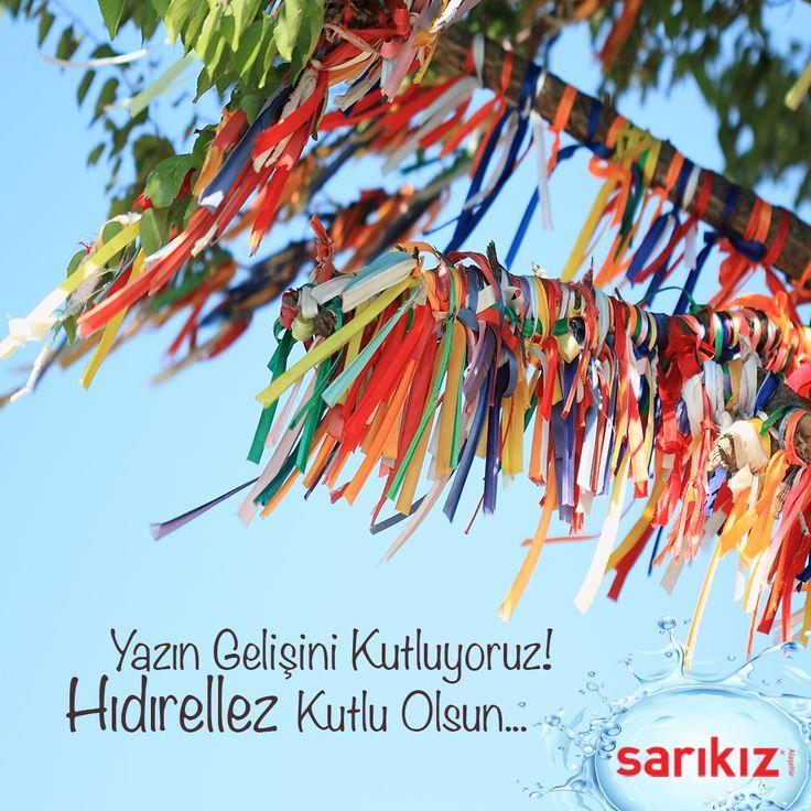 Hıdırellez Kutlu Olsun... #Hıdırellez #Sarıkız #Doğal #Maden #Su