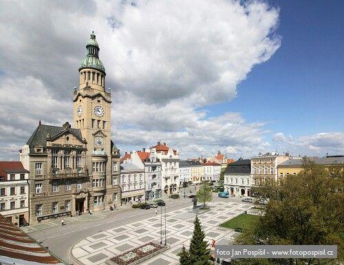 Prostejov, T. G. Masaryk Square