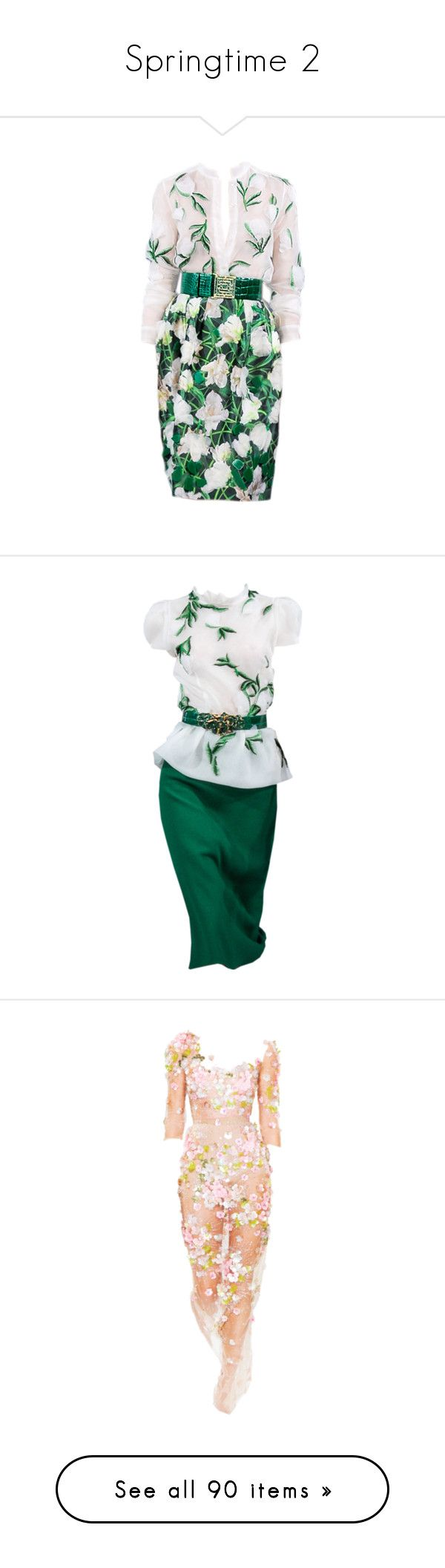 """""""Springtime 2"""" by nataliemcmahan ❤ liked on Polyvore featuring dresses, vestidos, gowns, satinee, green color dress, green dress, short dresses, short green dress, green mini dress and dolls"""