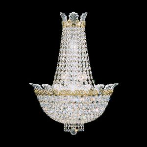 Schoenbek, Swarowsky Crystal chandelier wall sconce called: Roman Empire
