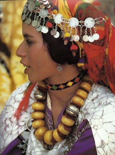 I admire Berber women for their fashion traditions, their incredible jewelry and use of color.
