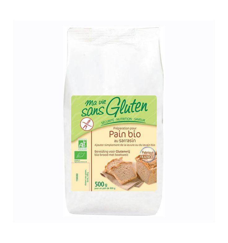 Amestec bio pentru paine fara gluten, bogat in fibre si proteine pe baza de hrisca si orez, gata preparat pentru paine fara gluten. Adaugati doar drojdia bio.