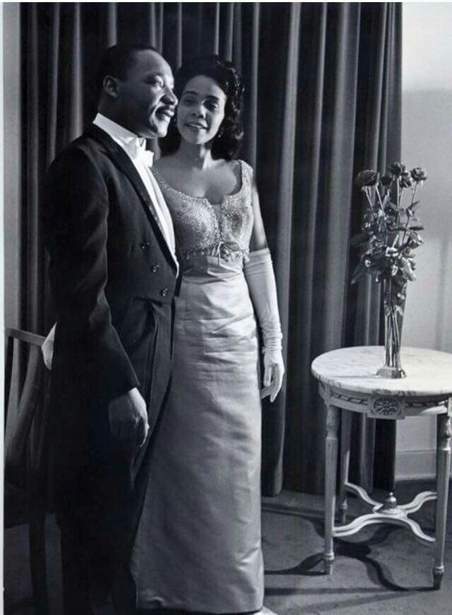 Dr Martin Luther King Jr and Coretta Scott King