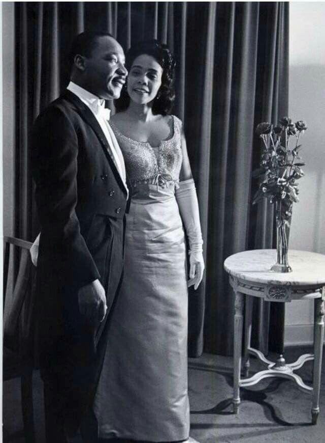 Dr & Mrs. Martin Luther King, Jr.