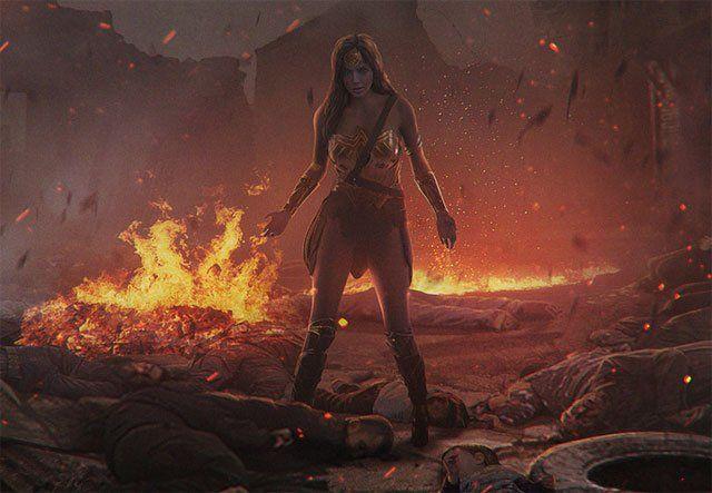 Cool New Wonder Woman Concept Art Hits the Web