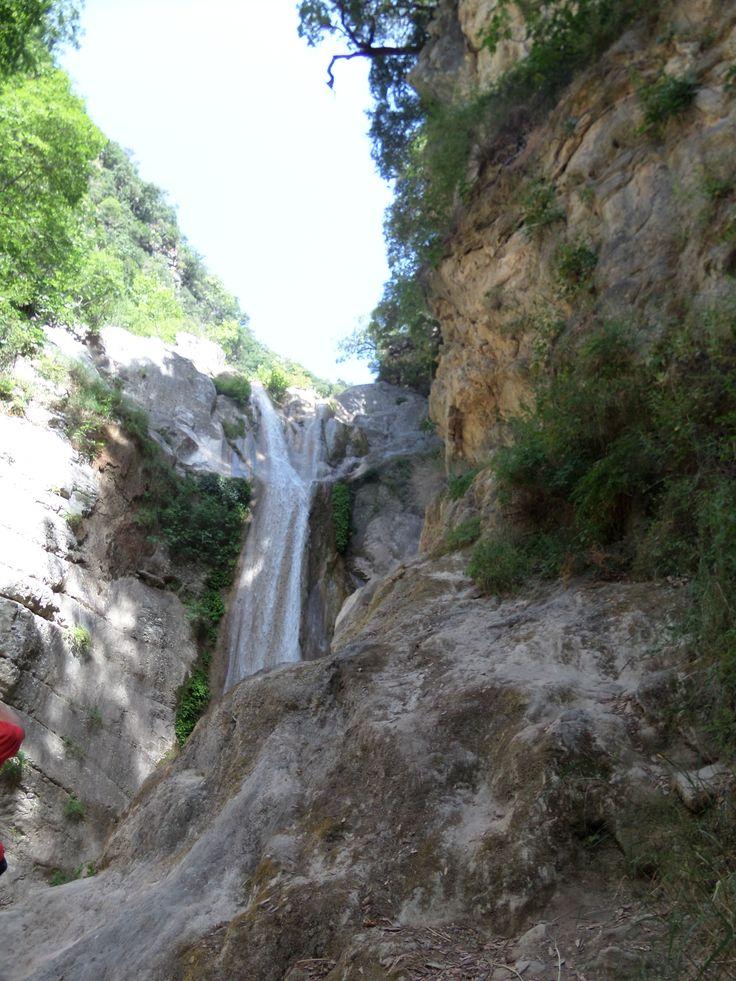 Nidri waterfall