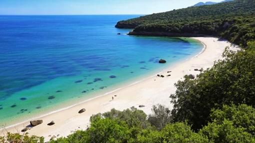Playa dos Galapinhos Setúbal (Portugal)  Las 20 mejores playas de Europa