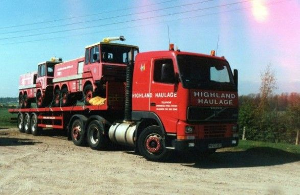 The Stonefield 6x4s leave Barra