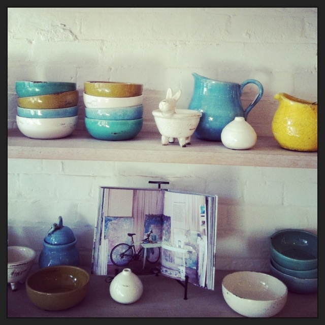 Beautiful hand made rustic terracotta bowls and jugs