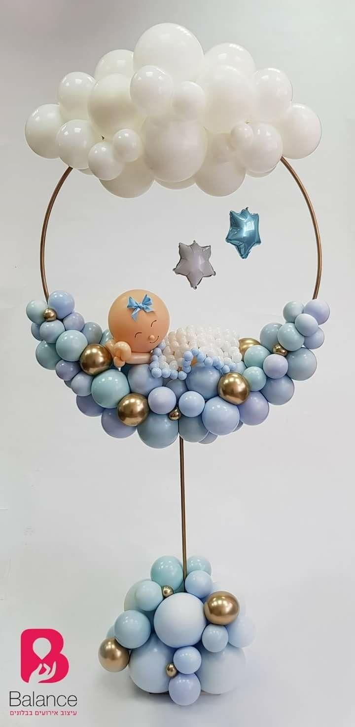 Baby Shower Balloon Decor Ideas Vozdushnye Shary Idei Dlya