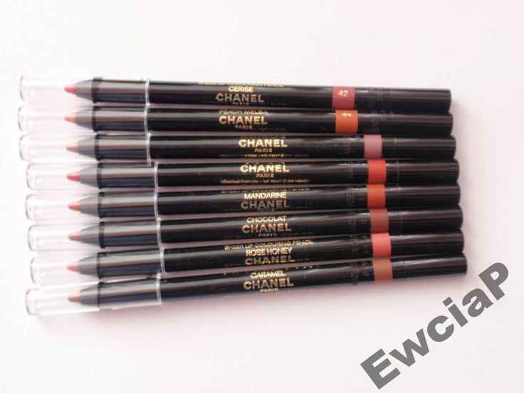 CHANEL kontur�wka do ust LE CRAYON GLOSS kolory