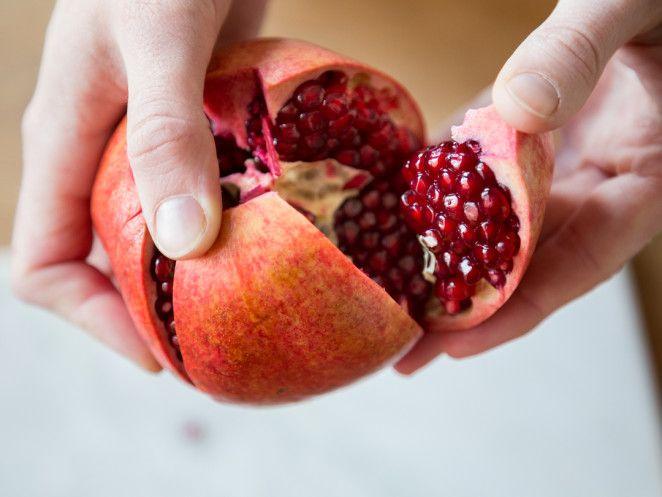 Powerfrucht Granatapfel.
