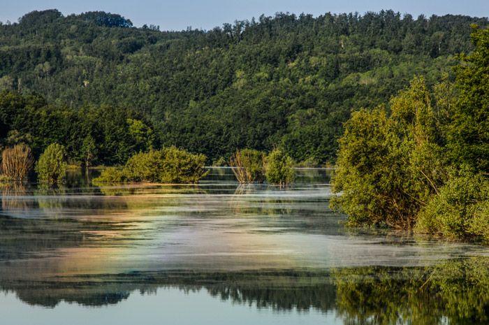 Lago di Scandarello, Amatrice, Rieti, Italy