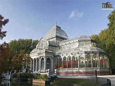 Palacio de Cristal in Retiro Park