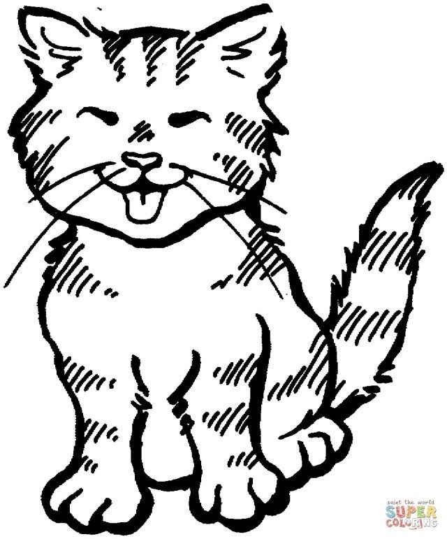 27 Beautiful Image Of Coloring Pages Of Cats Free Coloring