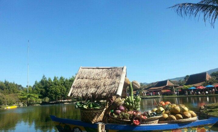 Floating Market Lembang, Bandung, Jawa Barat, Indonesia