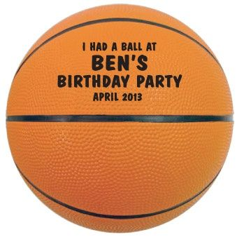 Mini-Basketballs make Unique Party Favors or Invitations for Birthdays, Weddings, Reunions, Baby Showers, Bar Mitzvah & Bat Mitzvah. Also great for Give-a-Ways, Promotions, Trade Shows, Advertising and Fund Raisers. Mini-Basketballs are made of a hard rubber and are suitable for indoor and outdoor use. They have the look, feel and bounce of an official rubber basketball.