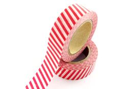twill washi tape,zebra washi tape, red white twill washi tape. e-mail: sale8@packingtape.cn