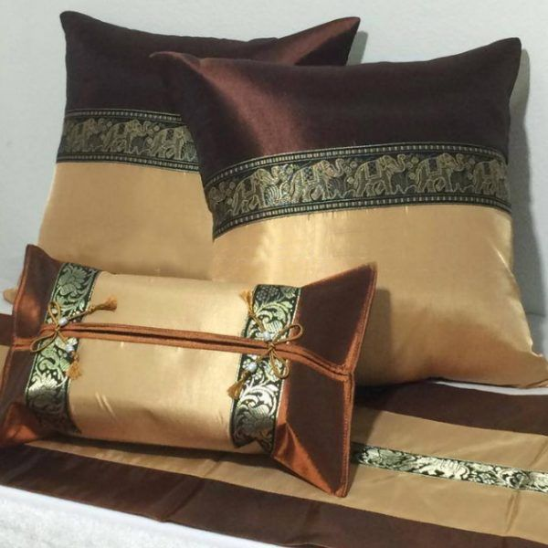 2-tone-brown-set-pair-box-runner-cushion-cover-bed-set