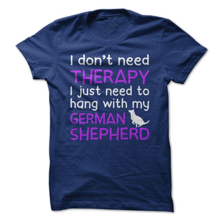Hang With My German Shepherd