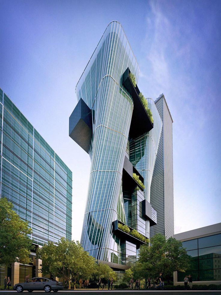 Sustainable, urban office architecture, Parramatta, Australia