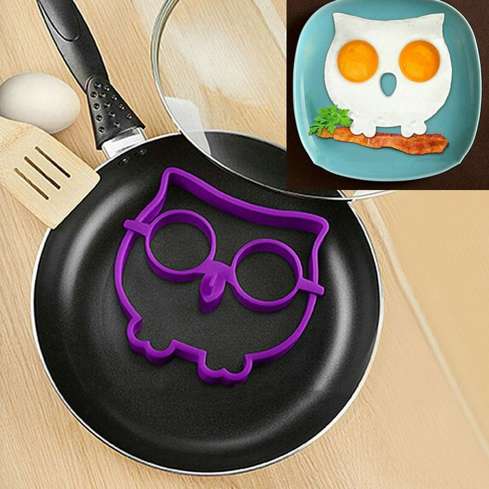 Find More Egg & Pancake Rings Information about 1pcs Egg Owl Shaper Silicone Moulds Owl Egg Ring Cooking Tools Christmas Supplies,High Quality tools ring,China ring connect Suppliers, Cheap ring desktop from Chic Shoes Mall on Aliexpress.com