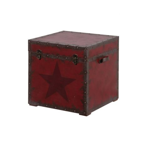 Square Red Star Trunk Available on Wysada.com